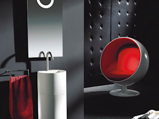Conjunto mueble de baño diseño LOFT de Mobiliario de baño Taberner Minimalista