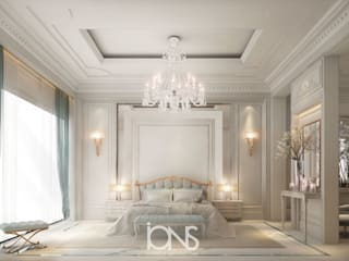 Elegant Neo Classic Master Bedroom Design IONS DESIGN Classic style bedroom Wood White