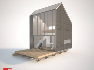 Vista lateral:  de estilo  por Incove Ingeniería y Construcción