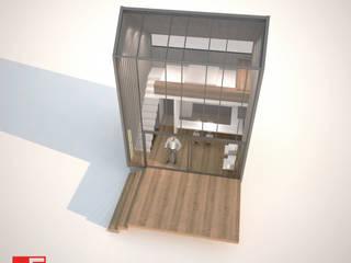 vista superior:  de estilo  por Incove Ingeniería y Construcción