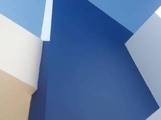 Casa azul : Casas  por Giulianne Chuma Arquitetura ,Tropical