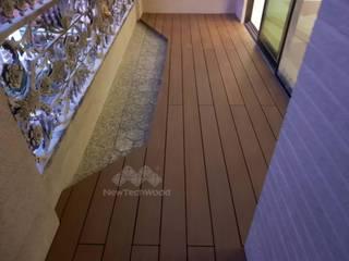 新綠境實業有限公司 Balkon Holz-Kunststoff-Verbund Holznachbildung