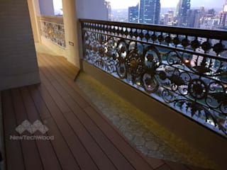 Balcony by 新綠境實業有限公司, Asian
