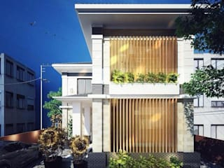 Thi công trọn gói biệt thự 2 tầng mái thái đẹp bởi Xây nhà trọn gói