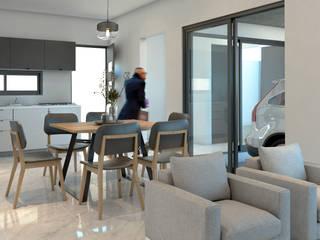 CASA ER-11: Comedores de estilo  por AP Arquitectura