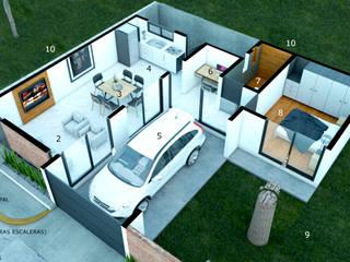 CASA ER-11:  de estilo  por AP Arquitectura