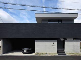 東面外観: (株)建築デザイン研究所が手掛けた家です。