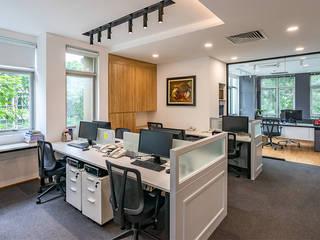 Thiết Kế Thi Công Nội Thất Văn Phòng DiLinh Legal (V1) bởi Dandelion Design Construction Hiện đại