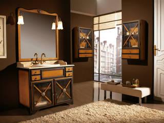 Conjunto de mueble de baño rural ALBA de Mobiliario de baño Taberner Mediterráneo