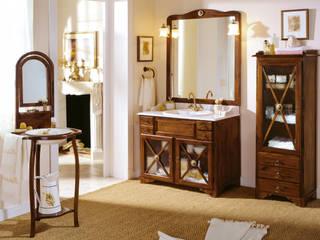 Conjunto de mueble de baño rural ALBA de Mobiliario de baño Taberner Clásico