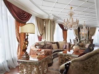 Квартира в Клубном доме Тихвин: Гостиная в . Автор – Novik Design