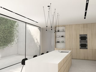 Kitchen Design, Cape Town:  Built-in kitchens by Lijn Ontwerp,