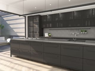 Kitchen Design :  Built-in kitchens by Lijn Ontwerp,
