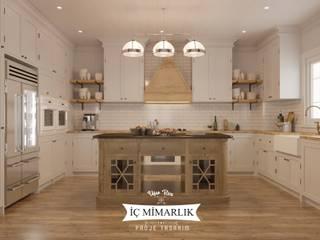 Uğur RİCA İÇ MİMARLIK – mutfak tasarımı:  tarz Mutfak üniteleri