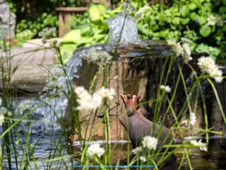 Estanques de jardín de estilo  por BECKER Garten- und Landschaftsbau GmbH