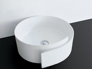 F-Courbe - Basin Modern bathroom by queobathrooms Modern