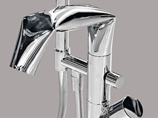 F-Courbe - Faucet Modern bathroom by queobathrooms Modern