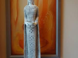 Buddha Steinfiguren gartendekoparadies.de GartenAccessoires und Dekoration Beton Grau