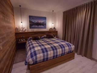 BEARprogetti - Architetto Enrico Bellotti Modern style bedroom