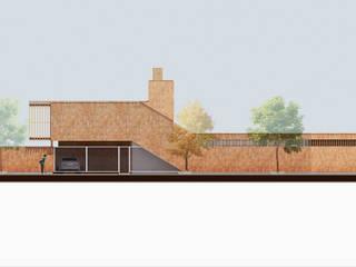 Vivienda AyP: Casas unifamiliares de estilo  por Vozza Arquitectura,Moderno