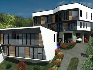 Arq. Rodrigo Culebro Sánchez Moderne huizen