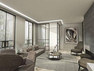 Ruang Keluarga Gaya Eklektik Oleh Lars Bartels, Interior & architecture Eklektik
