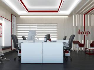 Oficinas IKOP: Estudios y oficinas de estilo  por Vozza Arquitectura,Moderno