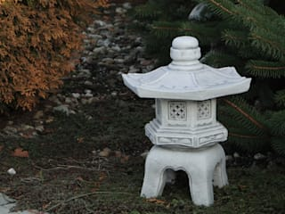 Japanische Steinlaternen gartendekoparadies.de GartenAccessoires und Dekoration Beton Grau