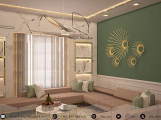 Living room by Amjad Alseaidan, Classic