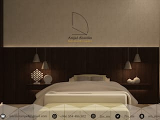 Small bedroom by Amjad Alseaidan, Eclectic