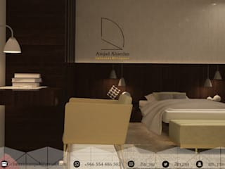 Small bedroom by Amjad Alseaidan