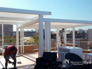NavarrOlivier Bars & clubs minimalistes Bois Blanc