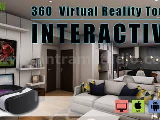 Interactive 360 Virtual Reality Tours Mobile App Developed by Yantram Virtual Reality Apps Development, New York - USA Yantram Architectural Design Studio Modern