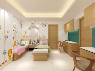 Residential Project:  Baby room by Designs Combine