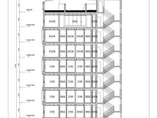 동소문동 오피스텔 더에이트: 오파드 건축연구소의 현대 ,모던