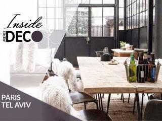 Agence Inside DECO Столовая комната в стиле лофт