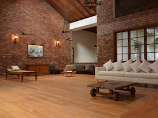 Bungalow Project Rustic style living room by Designs Combine Rustic