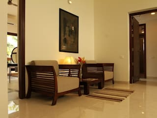 Villa ECR, Chennai Country style living room by Fabindia Country
