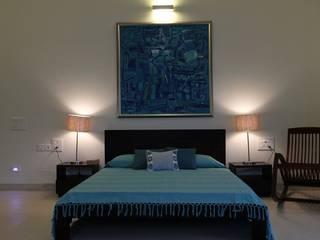 Villa ECR, Chennai Classic style bedroom by Fabindia Classic