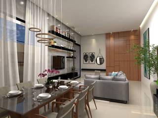 Sala de jantar : Salas de jantar  por Traço B Arquitetura