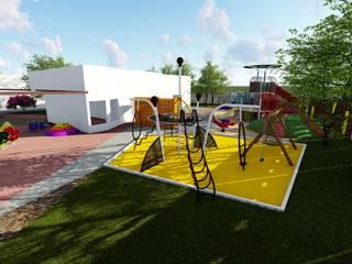 Playground: Terraços  por Traço B Arquitetura