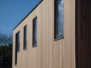 Cornwall Cladding 2019:  Wooden houses by Building With Frames