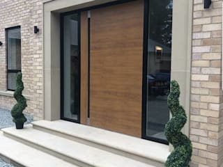 Pivot Doors by RK Door Systems 모던