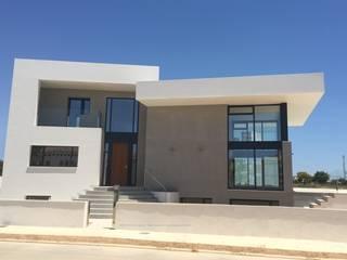 TI Casas de estilo minimalista de Dyov Arquitectura NATURAL, Passivhaus concept. 696.663.559 y 653.77.38.06 Minimalista