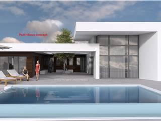 MAND de Dyov Arquitectura NATURAL, Passivhaus concept. 696.663.559 y 653.77.38.06 Moderno