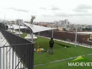 Công ty TNHH Havico Việt Nam Balcones y terrazas de estilo minimalista