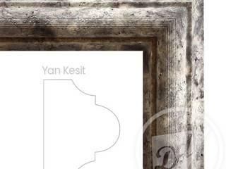 de estilo  por DOĞALDEKOR | DEKORATİF DOĞAL TAŞ & MERMER & TRAVERTEN ÜRETİCİ