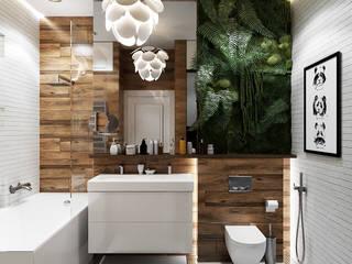 Квартира ЖК на Образцова: Ванные комнаты в . Автор – Epatage Design E
