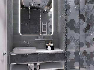 квартира ЖК Поющие Фонтаны: Ванные комнаты в . Автор – Epatage Design E