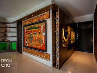 Living Area Wall:   by Design DNA Hyderabad